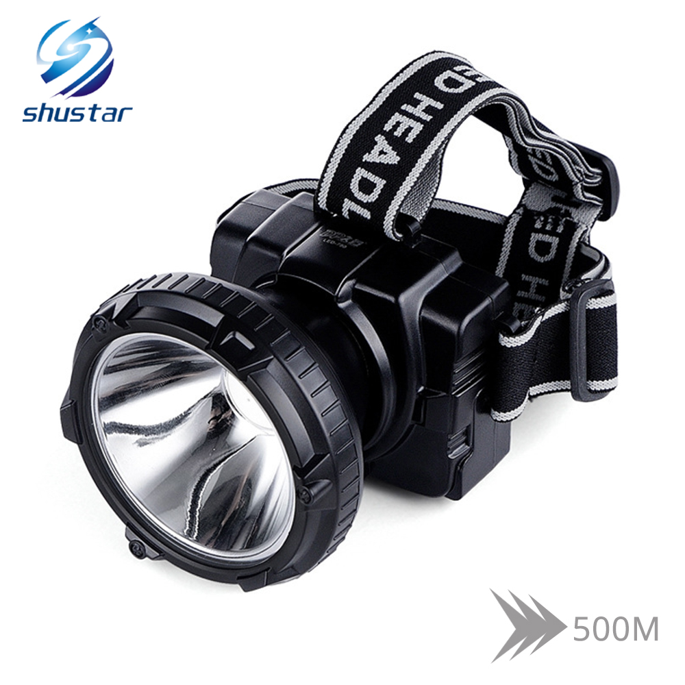 Rechargeable LED Headlamp Ultra Bright Headlight Built-in 4000 MAh Large-capacity Lithium Battery Available For 20 Hours
