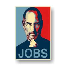 "Steve Jobs Great Man Poster Wall Art Canvas Painting Posters and Prints Wall Picture Room Decorative Home Decor 24""x36"" Inch(China)"