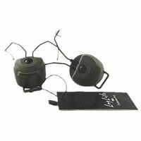 Capacete acessórios sordin fone de ouvido rápido capacete trilho adaptador z3ad peltor para msa fone de ouvido preto de fg headset peltor peltor adaptersordin headphone -
