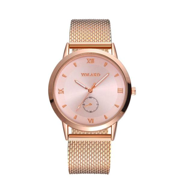 Female wristwatch Stainless Steel Elegant new Big Dial Women Watch Luxury Bracel