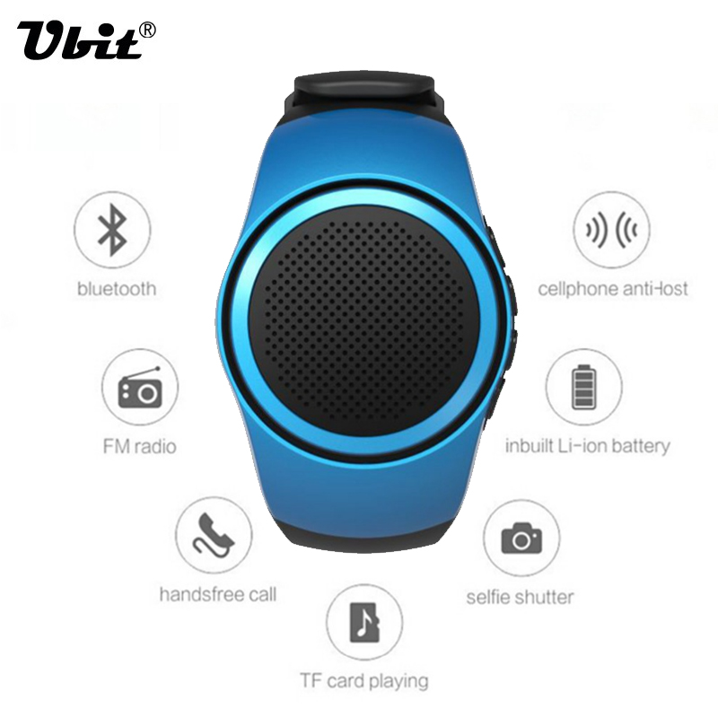 Ubit B20 Bluetooth Sports Music Watch Portable Mini Watch Bluetooth 2 1 EDR Sport Speaker TF