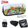 The legend of Zelda Bag Purse game characters lynk multifunctional large capacity double zipper bag wallet