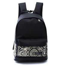 New 2019 Men Male Canvas black Backpack College Student School Backpack Bags for Teenager Mochila Casual Rucksack Travel Daypack new design male real cowhide leather casual travel bag school backpack daypack for men 2107