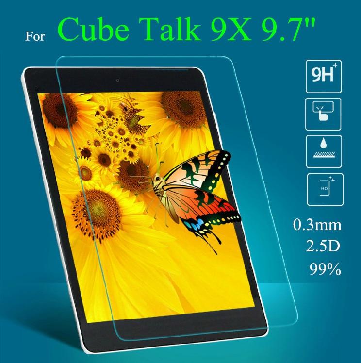 Talk 9x Glass Screen Protectors For Cube Talk 9x 9.7 Tempered Glass Screen Protector Tablet Accessories Tablet Screen Protectors