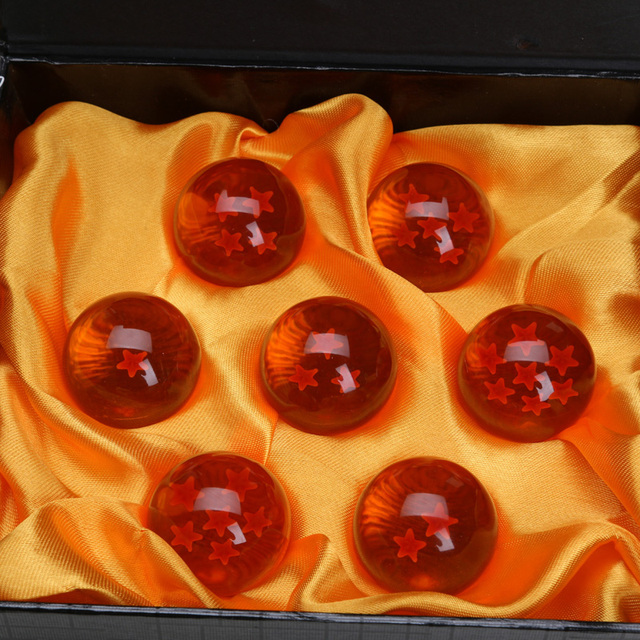 Dragon Ball- 3.5CM Crystal Ball Set of 7 pcs
