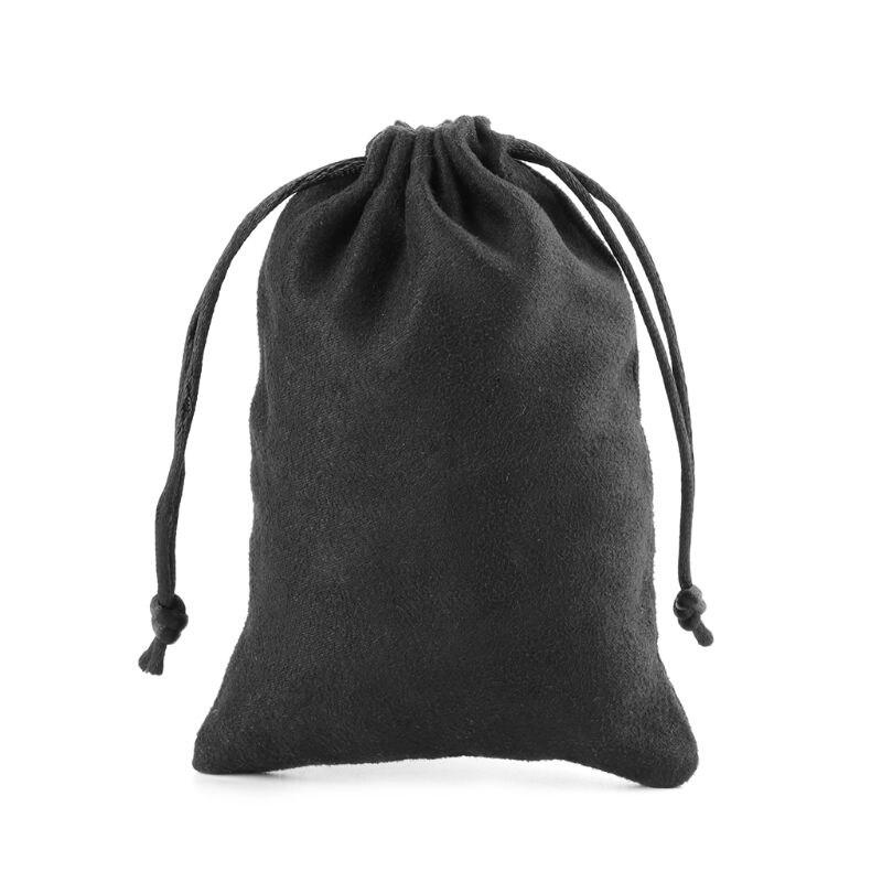 1pc Suede Dice Bag D&D Flannelette Bag Tarot Card Jewelry Drawstring Storage Bag