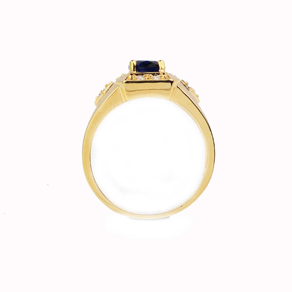 90dacb033ad Fashion Jewelry Gold Color Ring for Men Women Unisex Bijoux Vogue Homme  Wedding Jewellery Engagement Rings R117J Size 6 to 13-in Rings from Jewelry  ...