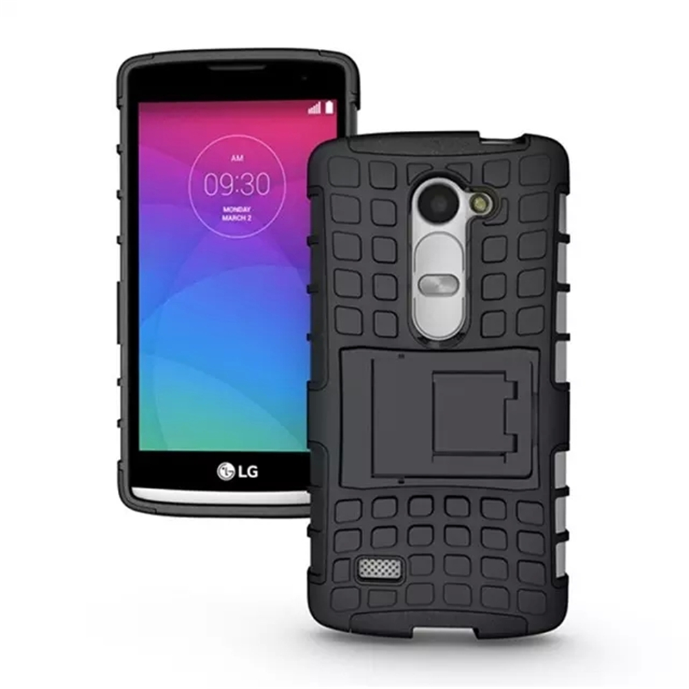 Silicone Hard <font><b>Phone</b></font> <font><b>Cases</b></font> Heavy Duty Armor Hybrid Rugged Rubber Cover <font><b>Case</b></font> For <font><b>LG</b></font> <font><b>Leon</b></font> H340N H324 H320 C40 C50
