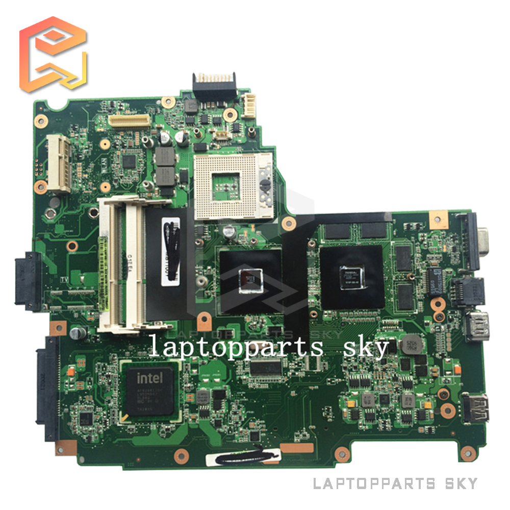 Original laptop motherboard for ASUS N61VN mainboard rev:2.1 HM55 DDR3 60-NXPMB1300-B13 fully tested works good for msi ms 10371 intel laptop motherboard mainboard fully tested works well