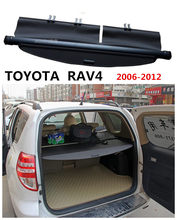 For TOYOTA RAV4 2006 07 08 09 2010 2011 2012 Rear Trunk Cargo Cover Security Shield Screen shade High Qualit Car Accessories(China)