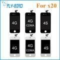 20 pçs/lote lcd para iphone 4 4g 4s com tela de toque digitador substituição display frete grátis