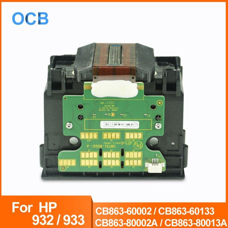CB863-80002A CB863-80013A 932 933 932XL 933XL Tête D'impression tête D'impression Pour HP OfficeJet 6100 6600 6060E 6700 7110 7510 7600 7610