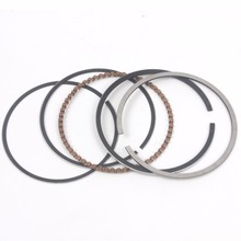 GY6 100cc Piston Rings Kit 50mm Big Bore Rings Set Moped Scooter 139QMB