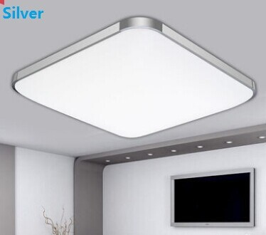 ФОТО NEW 2018 Modern Sqaure Led surface mounted ceiling light lamp light 15w  Home Livingroom Bedroom led ceiling Lamps Fast Shipping