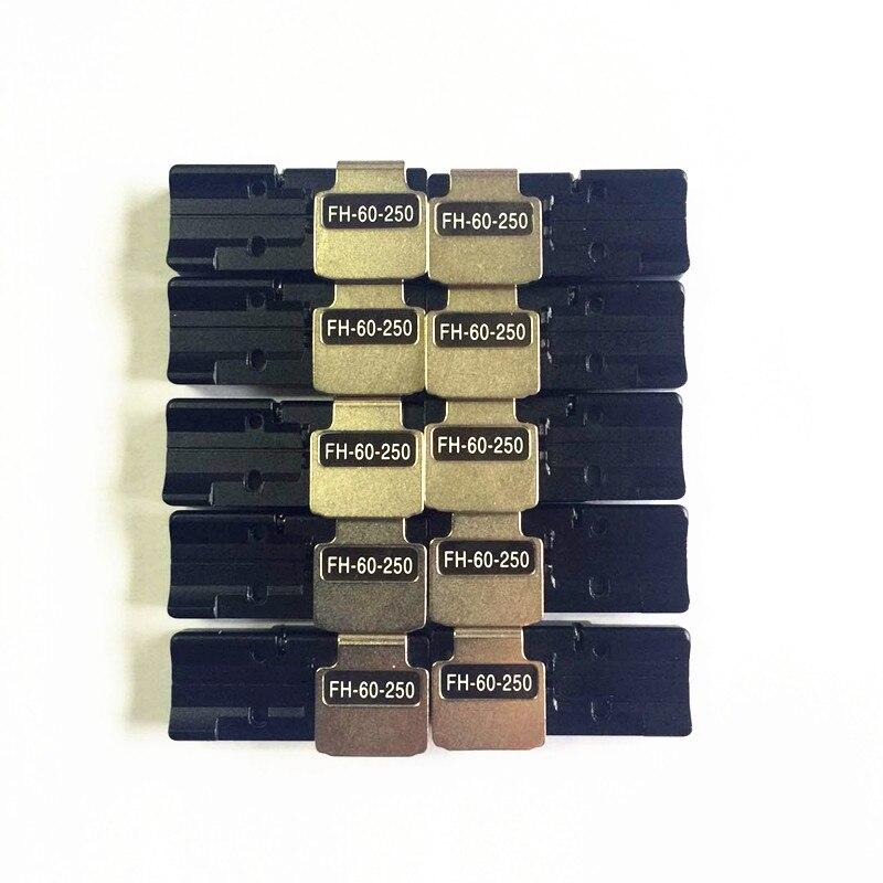 5 pairs /lot Fujikura fiber fusion splicer single core fiber holder FH-60-250 for FSM-60R FSM-70R FSM-12S FSM-22S FSM-70S FSM-805 pairs /lot Fujikura fiber fusion splicer single core fiber holder FH-60-250 for FSM-60R FSM-70R FSM-12S FSM-22S FSM-70S FSM-80