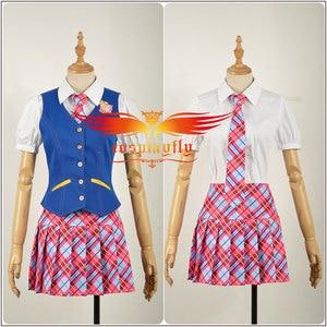 Image 3 - Anime Princess Charm School Sophia Hana Song Blair Willows JK Uniform Adult Cosplay Costume Clothing Outfits Halloween
