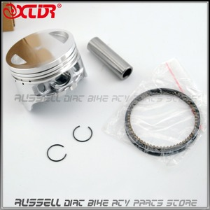 PISTON AND RING FOR Honda CG125 CG150 CG200 CG 125 150 200 Lifan LF Quality(China)