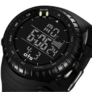 Image 5 - OTS 2019 Led Waterproof Sport Watch Fashion Casual Diving Sports Wristwatch Military Electronic Digital Army Men Watches