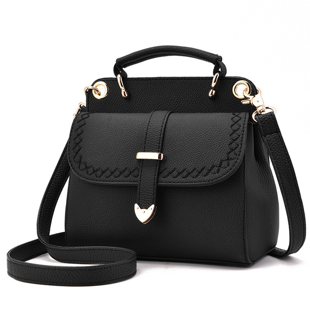 66c98af64915 New Fashion Women Small Rivet Doctor Bag Solid Color Casual Tote Small  Handbags Ladies Shoulder Messenger