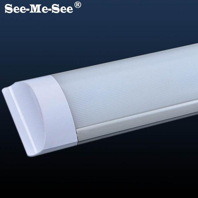 10 pz/lotto 600 millimetri 1200 millimetri Doppia Fila a prova di esplosione del tubo led Tri Prova di luce batten ha condotto il tubo