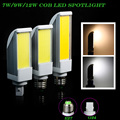 G24 E27 7W 9W 12W COB LED Corn Light AC85V-265V Horizontal Plug lamp Bombillas LED PL Corn Bulb Spot light CE RoHS