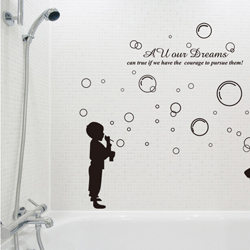 Nursery Bathroom Wall Stickers Home Decoration Quotes Environment Friendly Pvc Vinyl Art Stair