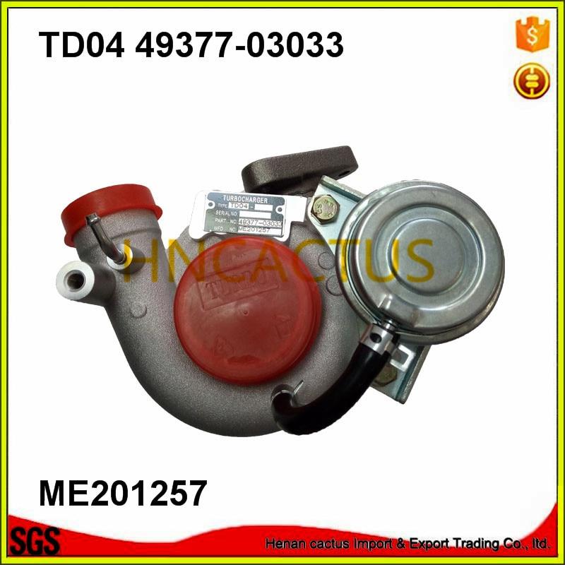 Turbo Turbocharger TD04 49377 03031 49377 03033 TF035 ME201257 ME201635 font b PAJERO b font II
