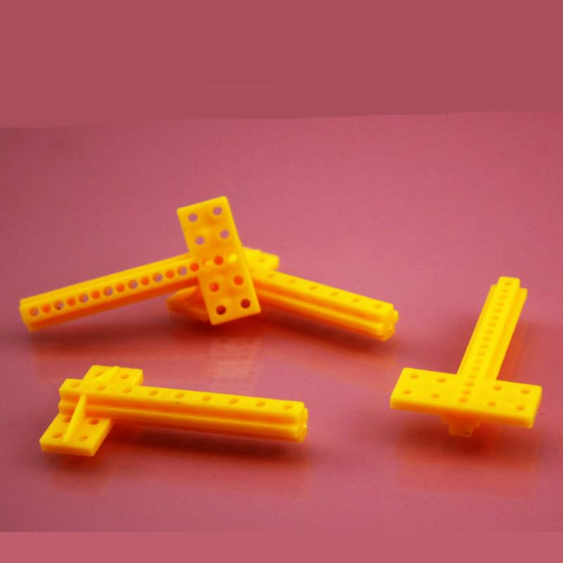 10pcs T type Plastic frame cross bar/connector/support rod/universal rod/rc car DIY toy accessories technology model part