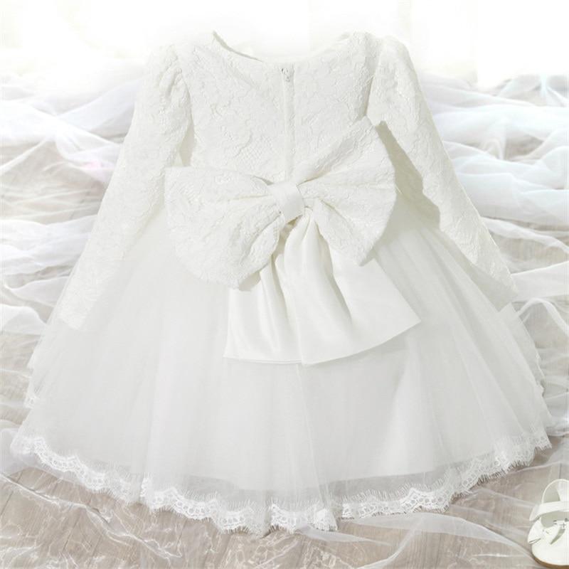 d2da345b634 Elegant Girls Dress For Kids Formal Events Clothes Autumn Winter Children  Girl Embroidery Flower Wedding Bridesmaid