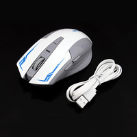 New Computer Rechargeable Mouse Notebook 2 4 GHz Wireless Mouse External Lithium Battery Rechargeable Mice Comes