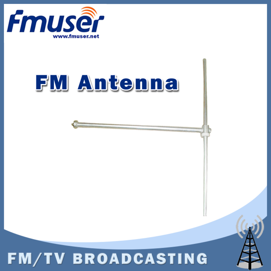 Free shipping FMUSER FU-DV1 1 bay FM Dipole Antenna High Gain Outdoor Antenna for 1kw FM transmitter+30m 1/2 cable free shipping fmuser st 05c 0 1w 0 5w fm transmitter antenna power supply kit