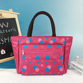 Lady Waterproof  Nylon Canvas Lunch Bag Tote
