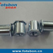 SOS-6440-16 Тру-отверстия стойки, нержавеющая сталь, природа, PEM стандарт, сделано в Китае