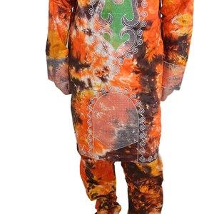 Image 5 - MD vêtements africains pour hommes, bazin riche, robes africaines pour hommes, chemises, haut, pantalon, costume dashiki africain, vêtements pour hommes
