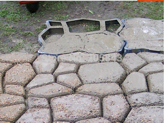 Exceptional Concrete Walkway Mold Garden Pavement Mold For Paving Beautiful Garden  Pathways , Crazy Paving Maker Paving Molds In Yard U0026 Garden Decor From Home  U0026 Garden ...