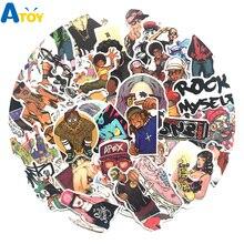 50 piezas Hip Hop Punk Rock Graffiti etiqueta Anime estilo mixto juguete para  portátil maleta guitarra nevera bicicleta Coche li. 18b8a77648b
