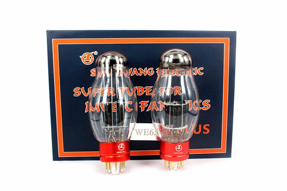 2PCS New SHUGUANG Tube WE6SL7 PLUS Vacuum Tube Replace 6SL7 6N9P 6H9C 5691 Electron Tube Free Shipping2PCS New SHUGUANG Tube WE6SL7 PLUS Vacuum Tube Replace 6SL7 6N9P 6H9C 5691 Electron Tube Free Shipping