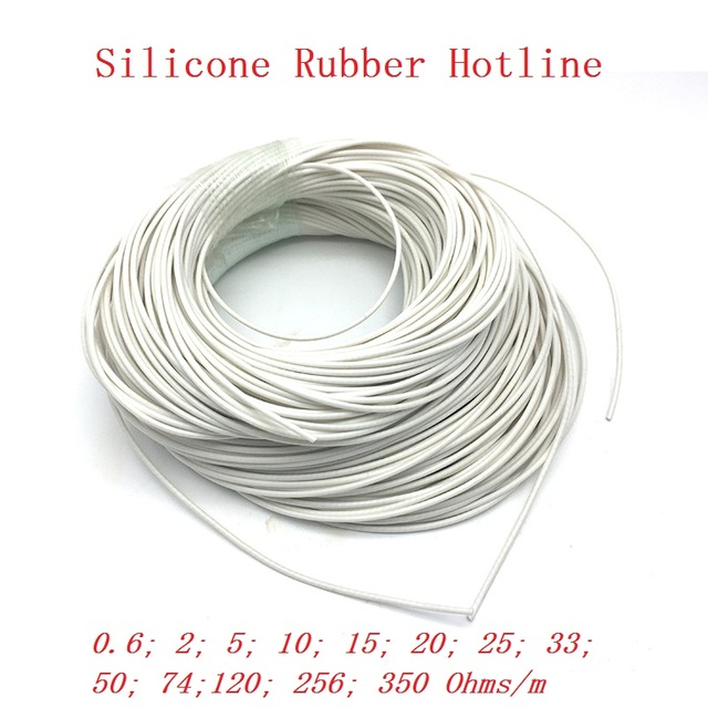 Superb All Sizes Low Voltage Silicone Rubber Heating Cable Electric Heating Wiring Cloud Hisonuggs Outletorg
