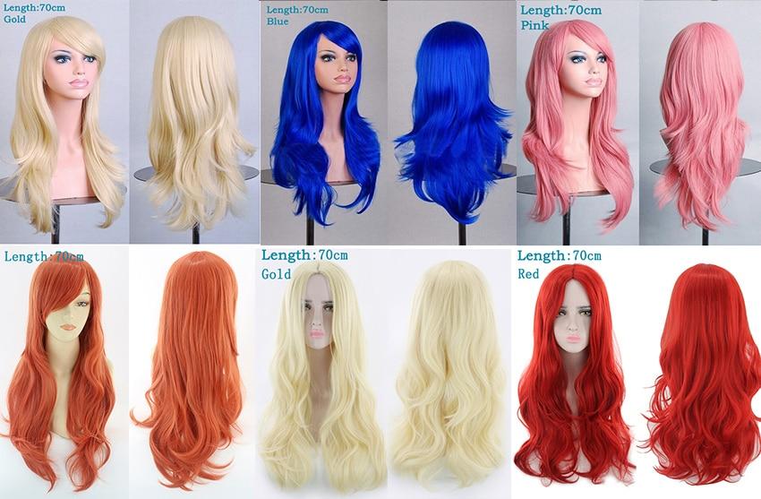 Long Straight Women's Wigs 11