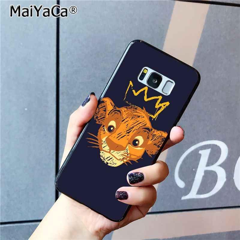MaiYaCa الأسد الملك كوك شل الهاتف حقيبة لهاتف سامسونج غالاكسي S7 S6 حافة زائد S5 S9 S8 زائد S10 S10Plus S10E
