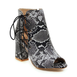 Image 4 - MORAZORA 2019 ใหม่มาถึงฤดูร้อนรองเท้า Peep Toe รองเท้าส้นสูงรองเท้า Lace Up + ซิปแฟชั่นรองเท้าผู้หญิงข้อเท้าสบายรองเท้าผู้หญิง