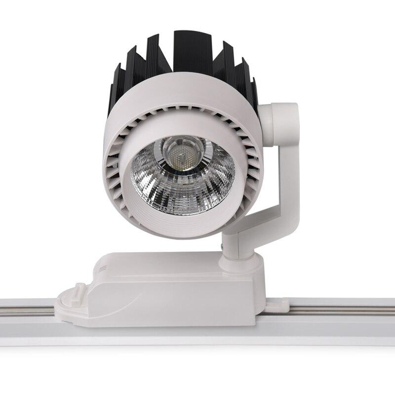 30w Led Track Lighting Fixtures: 20pcs LED Track Light 30W COB Spotlights AC110 240V Modern