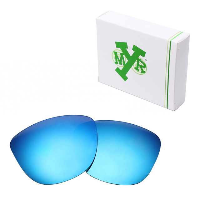 MRY ПОЛЯРИЗОВАННЫХ Сменные Линзы для Oakley Frogskins Солнцезащитные Очки Голубой Лед
