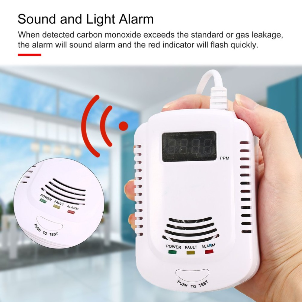 Back To Search Resultssecurity & Protection Combustible Gas Detector Sensor Lpg Natural Gas Analyzer Leak Determine Tester Sound-light Alarm Security Alarm System Eu Plug Fire Protection