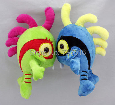 Stuffed & Plush Animals  Murloc Plush Doll Toys WOW Figure Blue & Green Set stuffed toys