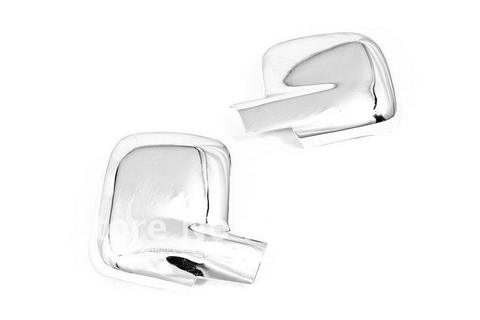 VW Caddy Transporter T5 wing mirror cover cap chrome Left/&Right