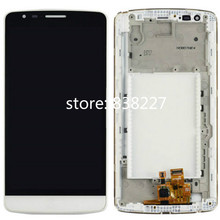 Original Black White Gold Replacement part for LG G3 Stylus D690 LCD Screen Display with Touch +  Frame Free Shipping