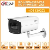 DH IPC HFW4631F ZAS IPC HFW4631F ZSA 6MP CCTV Night Camera 5X motorized zoom IR60M Bullet Camera Support SD card without logo