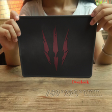 The Witcher 3 Large Size 250*300 *2MM Anti-Slip Mousepad for PC Computer Laptop Notebook Gaming Mouse Pad Stitiched Edge Mat