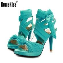 Sandalias de las mujeres Atractivas Ankel Correa Dancing Sandalias de Tacón Alto Partido de La Manera Wedding Los Zapatos Para Mujer Calzado Tallas 32-45 PA00841
